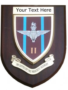 2 nd Parachute Regiment Personalised Military Wall Plaque